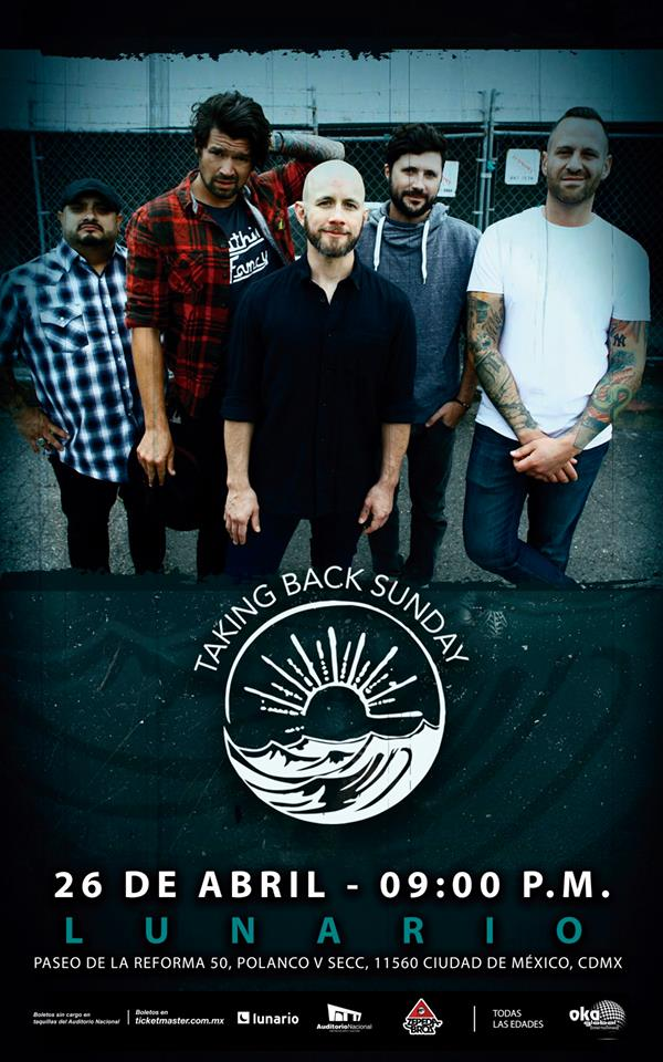 Taking Back Sunday en el Lunario
